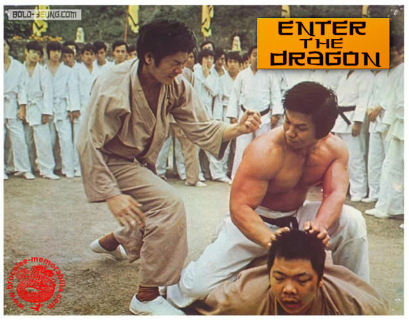 Enter the dragon movie poster artist