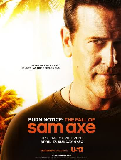 REVIEW: Burn Notice: The Fall of Sam Axe (2011)