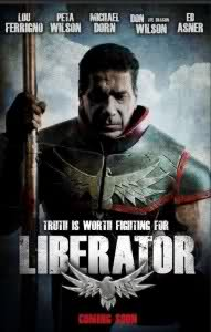 "Lou Ferrigno is the new superhero in ""The Liberator""!"