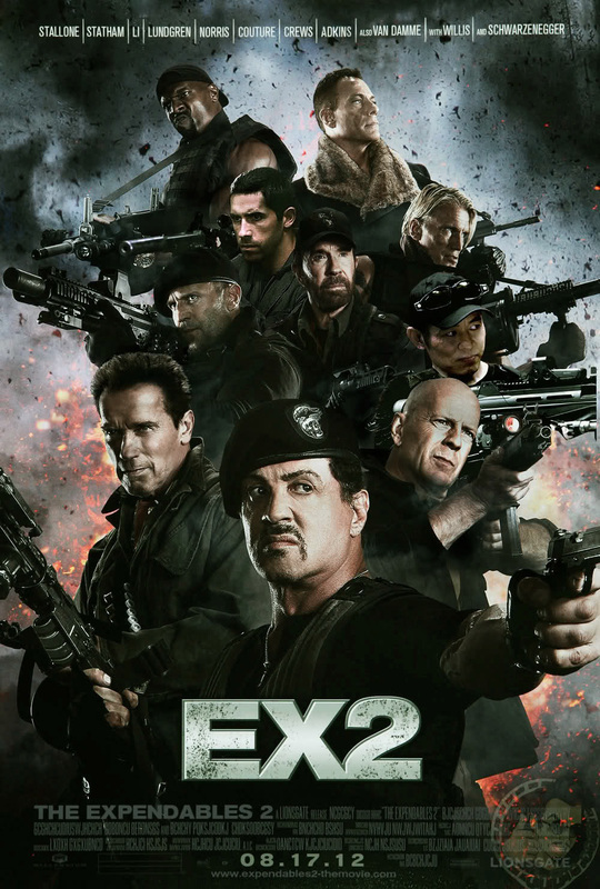 "Big update on the ""Expendables 2"" with photos"