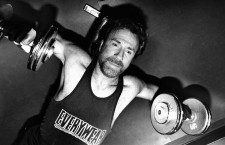 Chuck Norris Works Out