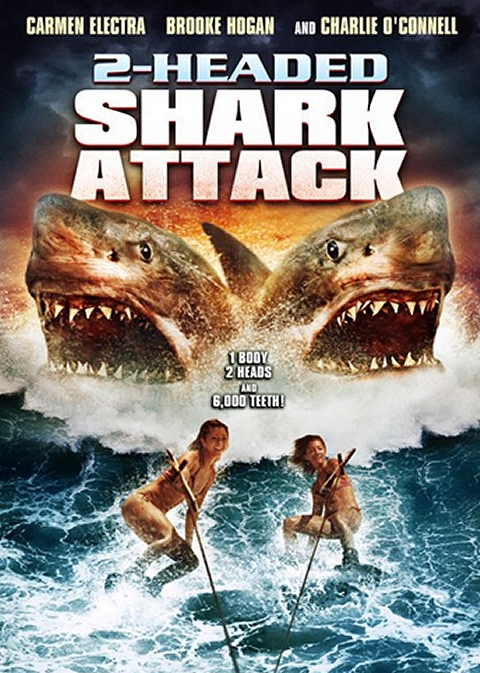 REVIEW: 2-Headed Shark Attack (2012) + trailer