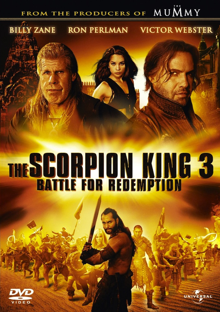 REVIEW: Scorpion King 3 – Battle for Redemption (2012)
