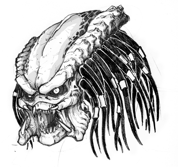 PHOTO GALLERY: The Predator - artworks and drawings