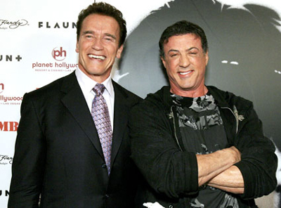 The untitled Stallone-Schwarzenegger film project