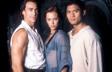 Daniel Bernhardt, Kristanna Loken and Paolo Montalban (from left)