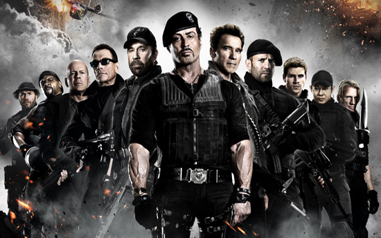 Expendables 2: a puzzle that doesn't glue together