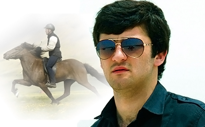 Azerbaijani horse-riding stuntman from Ukraine reveals craft secrets