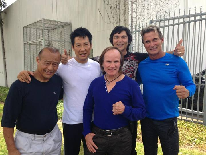 Martial arts legends gather on set of Phillip Rhee's new film – PHOTOS, VIDEO