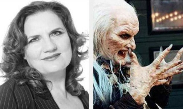 Cinema females: with and without horror make-up – PHOTOS