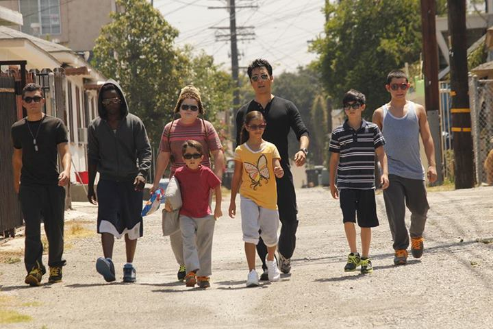 "Phillip Rhee on set with kids of his ""passion project"" Underdogs – PHOTOS"