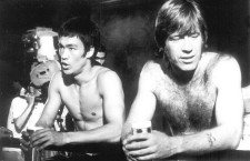 "Rare behind the scenes photos of Bruce Lee vs Chuck Norris from ""Way of the Dragon"""