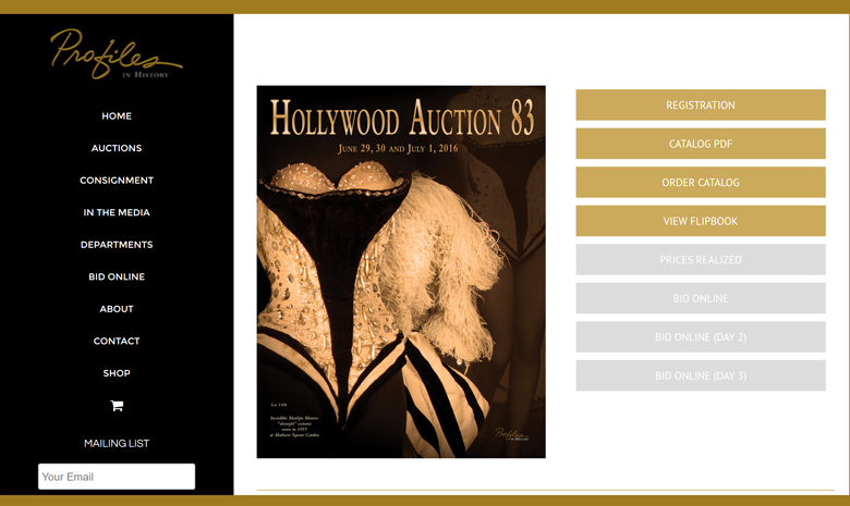 Big Hollywood auction to feature nearly 1,700 lots