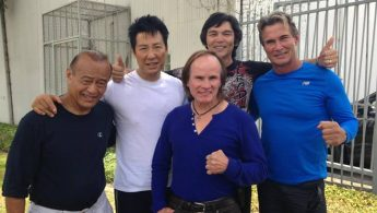 Martial arts legends gather on set of Phillip Rhee's new film - PHOTOS, VIDEO